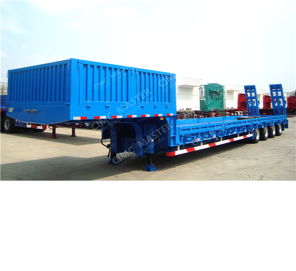 low bed trailer with side wall01.png