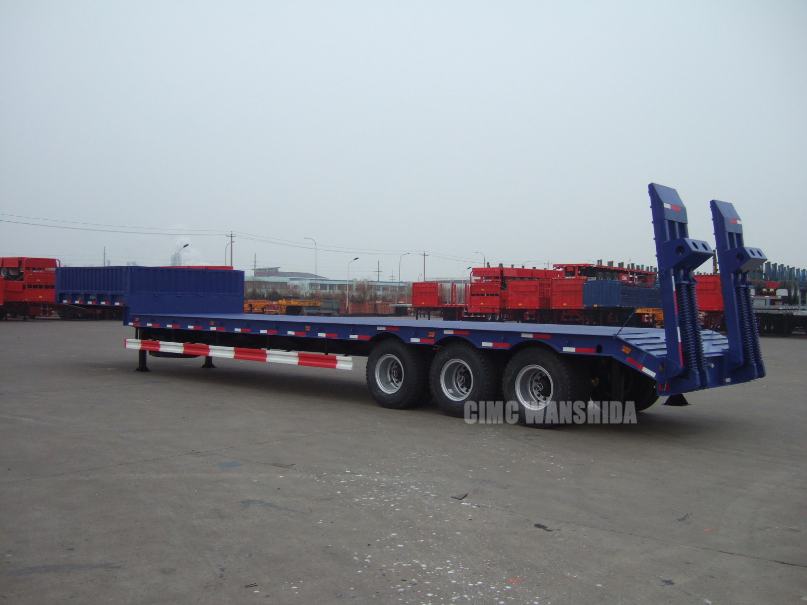 40 ton low bed trailer for sale