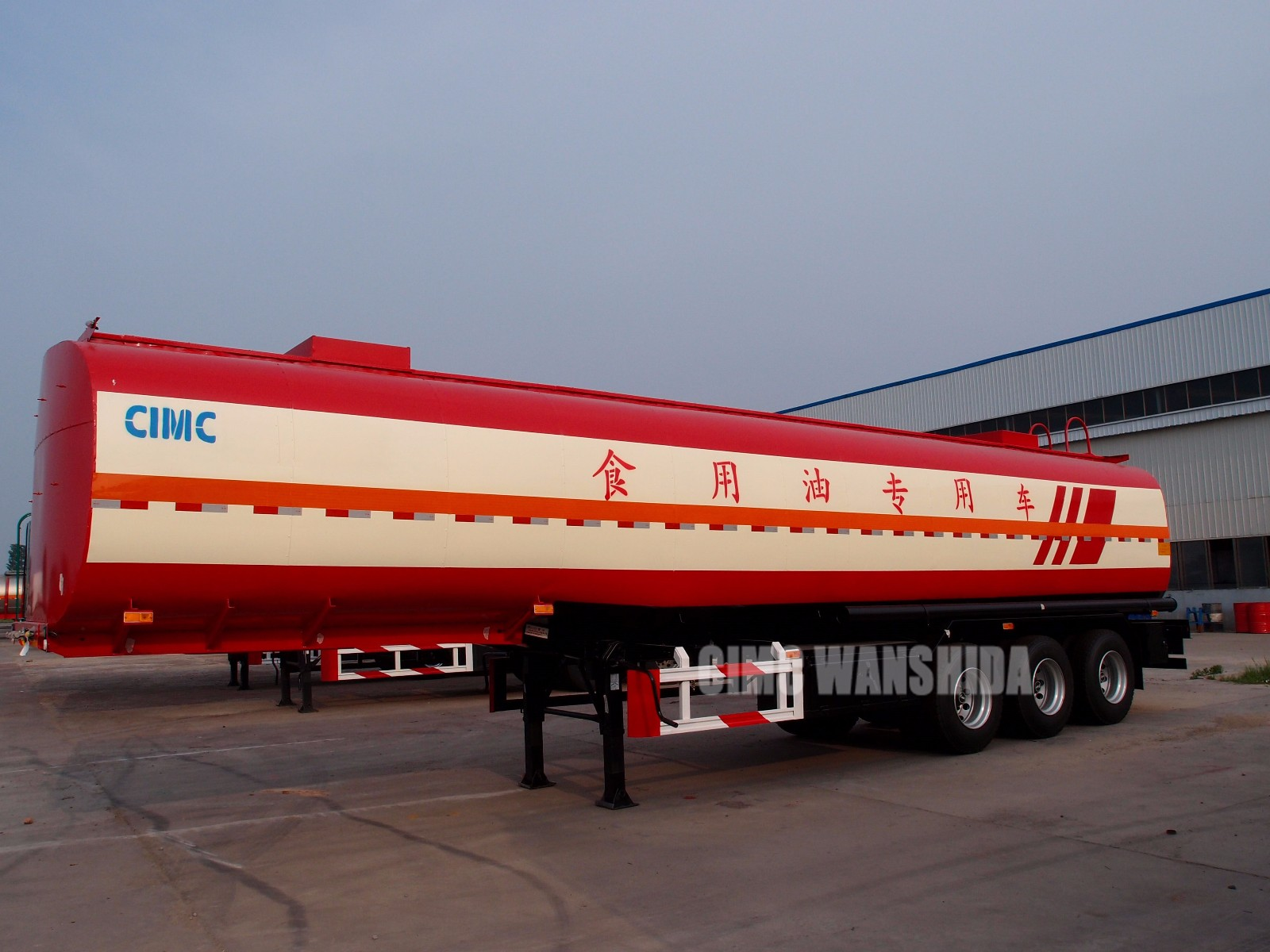 stainless steel tanker semi trailers for sale