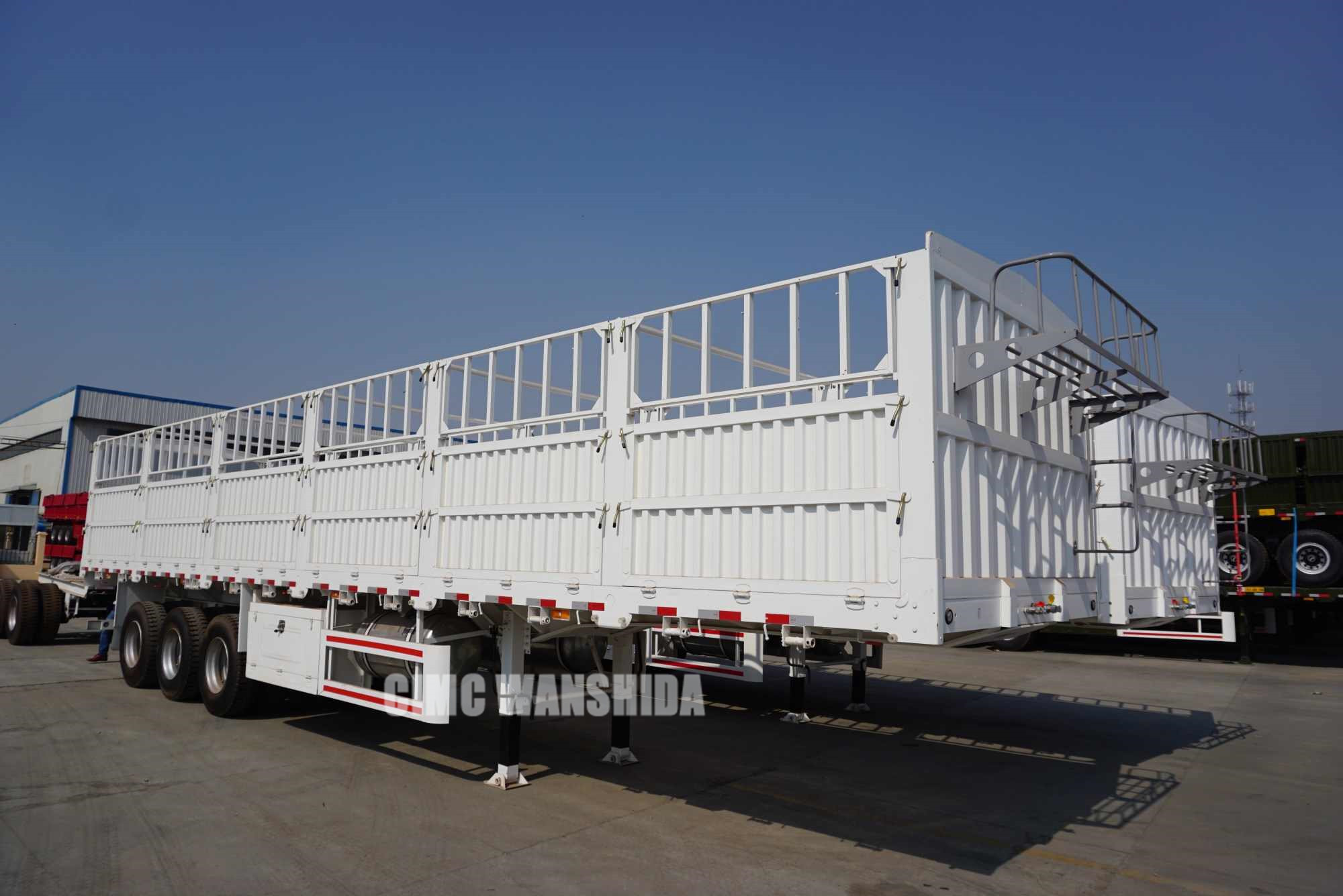 china cimc cargo trailers with dolly for sale