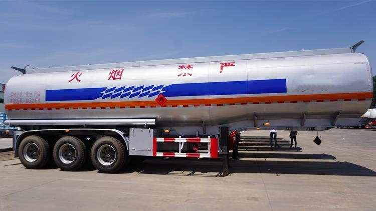 Aluminum Oil Tanker Trailer for Sale