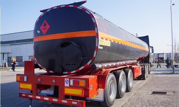 Tri Axle Bitumen Tanker Trailer for Sale