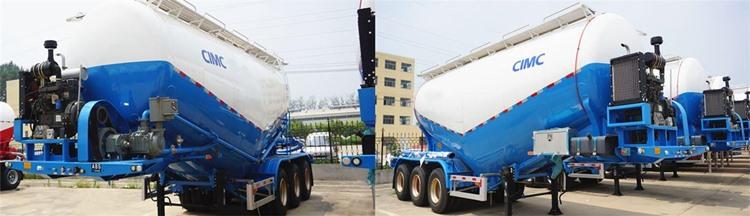 CIMC 40cbm Cement Tanker Trailer for Sale in Zimbabwe