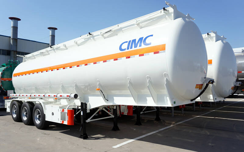 CIMC 3 axle fuel tanker trailer for sale