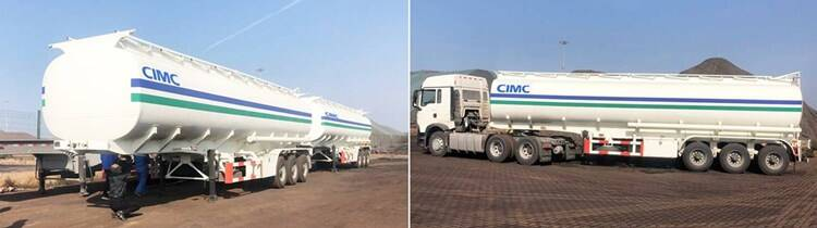 3 Axle Fuel Tanker Trailer for Sale Maunfacturer