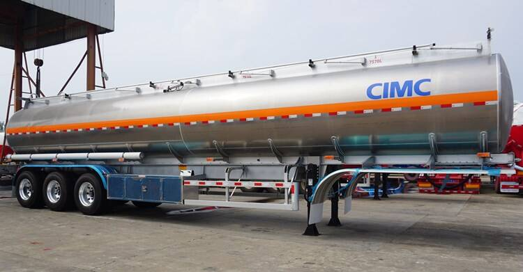 45000L Aluminium Fuel Tanker Trailer Price