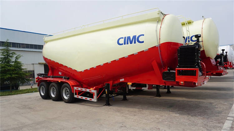 35 cbm cement tanker trailer