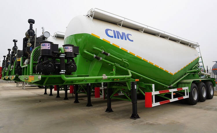 32cbm pneumatic sand trailer