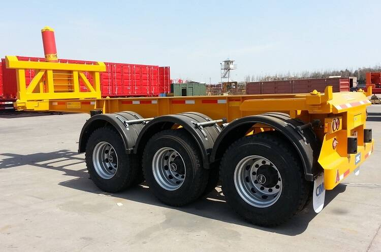 20ft tipper chassis trailer