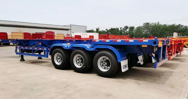 Specifications of Container Skeletal Trailer