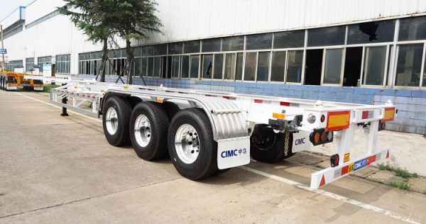 CIMC Multi-Functional 40ft Container Chassis Trailer for Sale in Nigeria