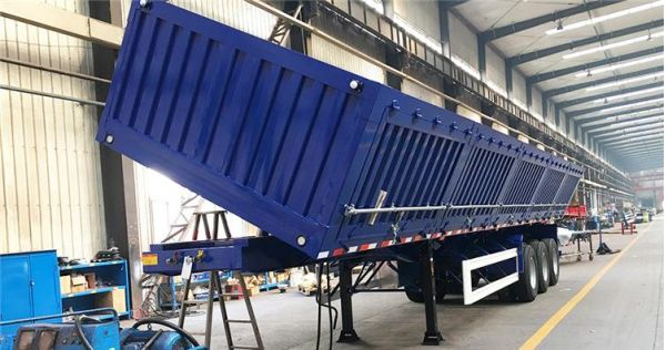 CIMC Side Semi Tipper Trailer for Sale - How to choose a side tipper trailer?