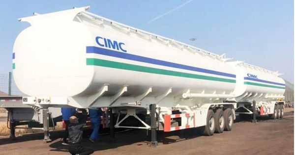 CIMC 42000 Liters Gas Tanker Trailer for Sale in Zimbabwe