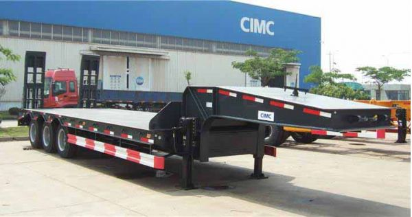 60 Ton Low Bed semi trailer for Sale in Zimbabwe