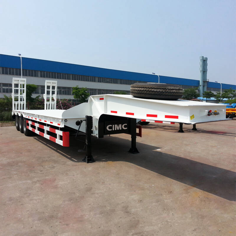 CIMC 60 Tons Lowbed Trailer