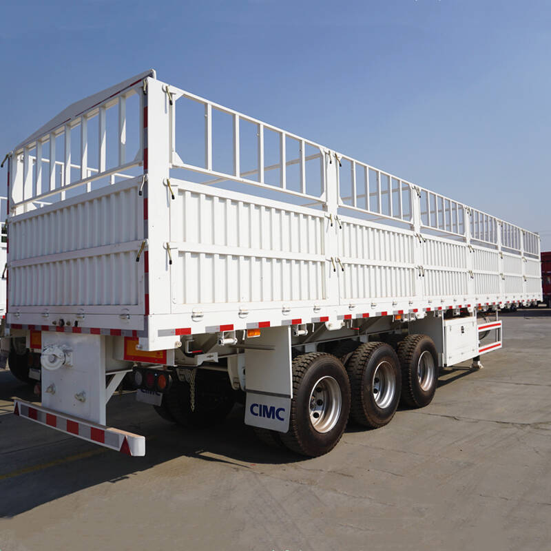 CIMC 3 Axle Fence Trailer