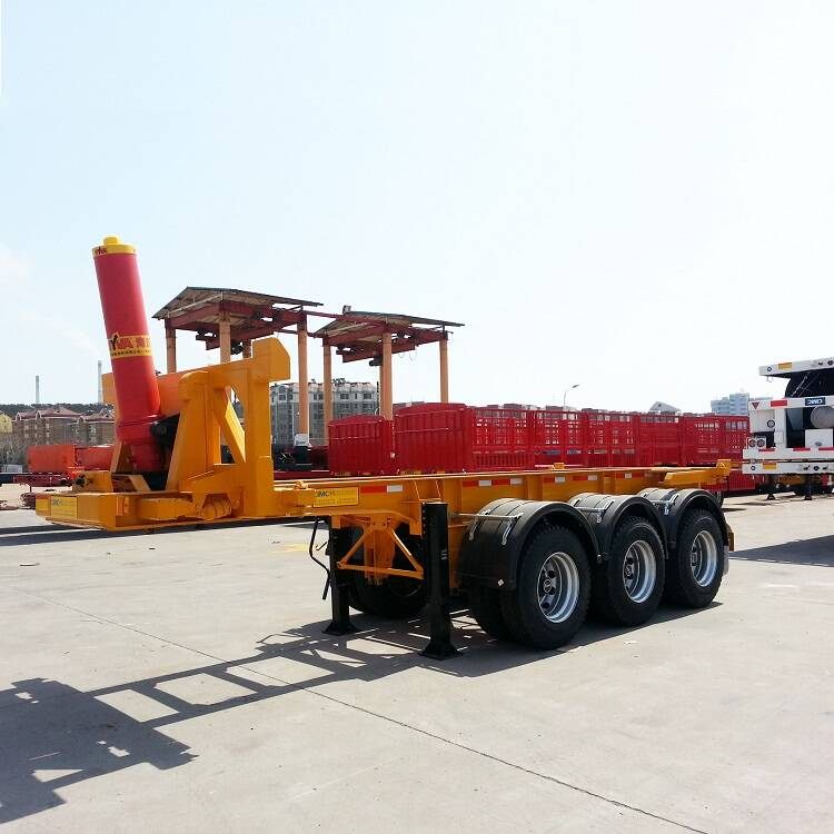 CIMC 20ft tipper chassis trailer