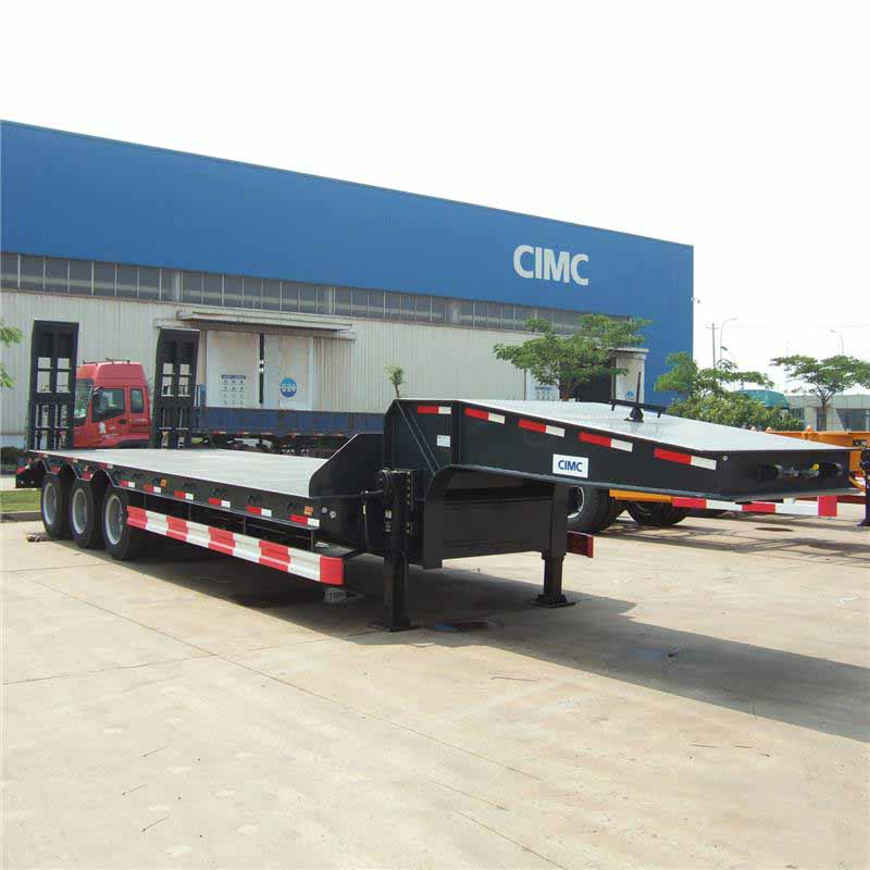 Semi Low Bed Trailer 60T