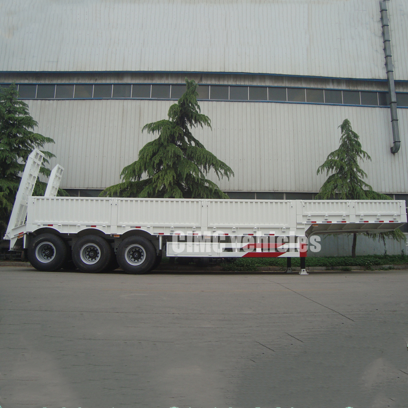 Heavy duty semi low bed trailer
