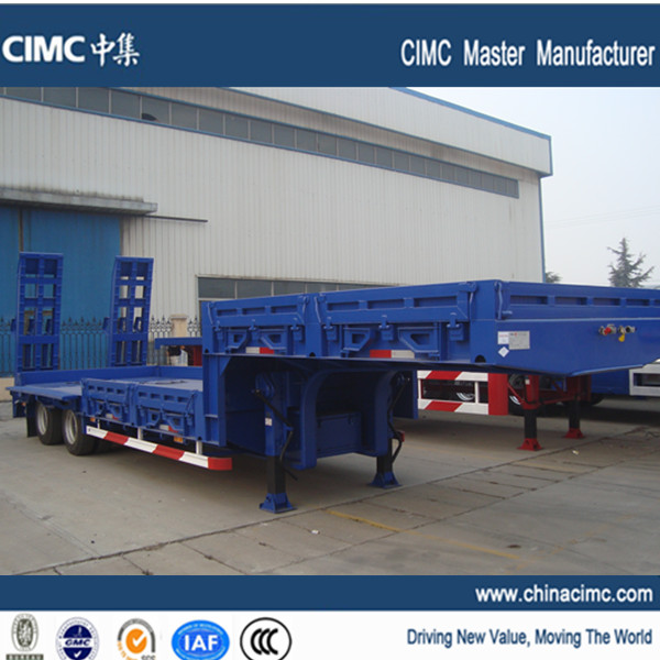 100 ton Lowboy Trailer for equipment