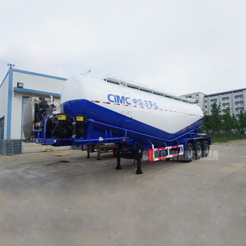 powder material tanker