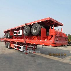 2 axle semi flat bed trailers for sale