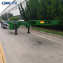 40ft Gooseneck Container Chassis