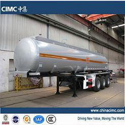 3 axles crude oil tanker trailer